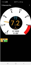 Digital Torque Indicator Screenshot